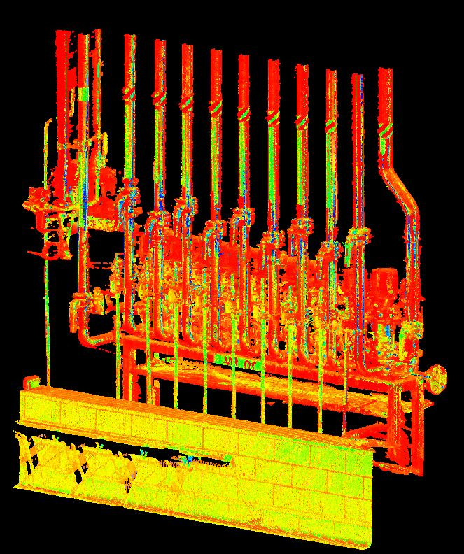 Valve Set Point Cloud